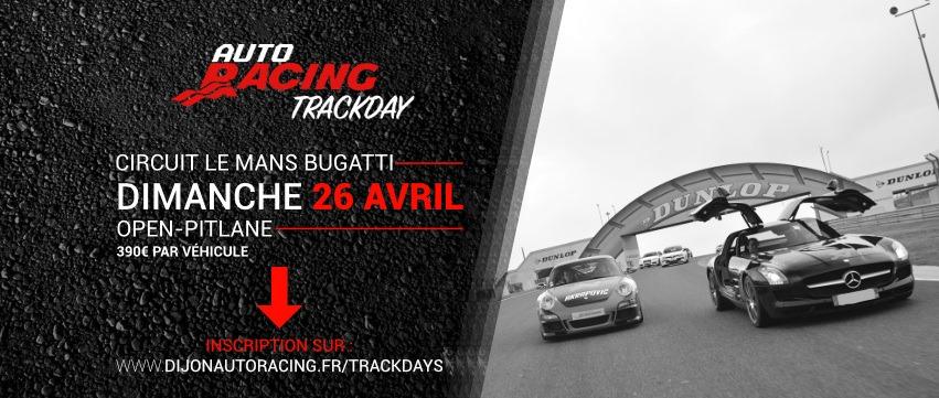 TrackDay Le Mans Bugatti