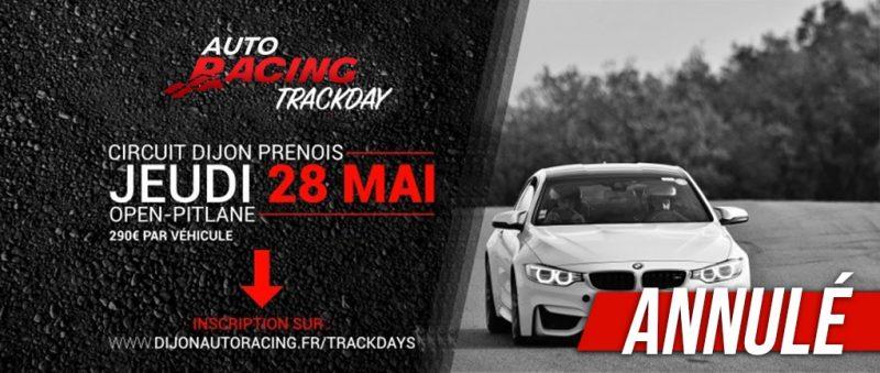 TrackDay Dijon-Prenois | Jeudi 28 Mai 2020