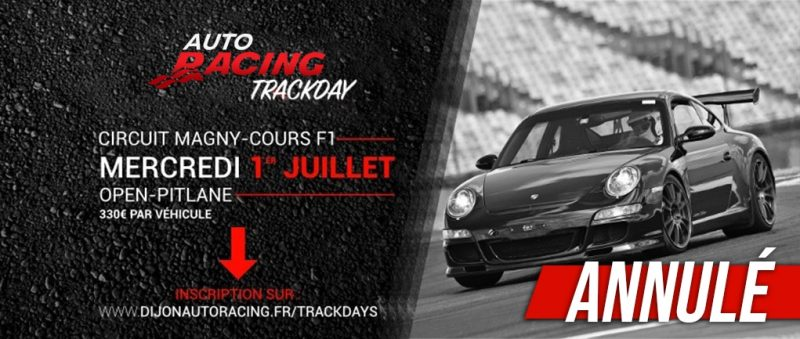 TrackDay Nevers Magny-Cours | Mercredi 1er Juillet 2020