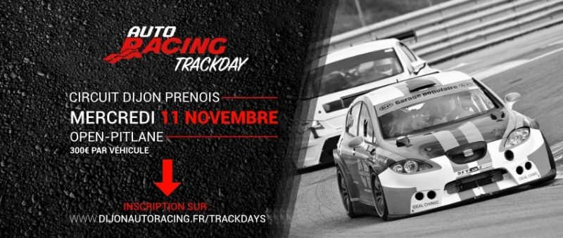 TrackDay Circuit Dijon Prenois | Mercredi 11 Novembre 2020