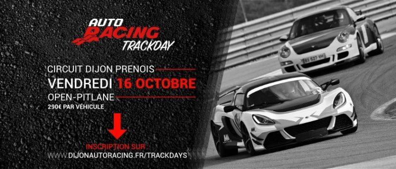 TrackDay Circuit Dijon Prenois | Vendredi 16 Octobre 2020