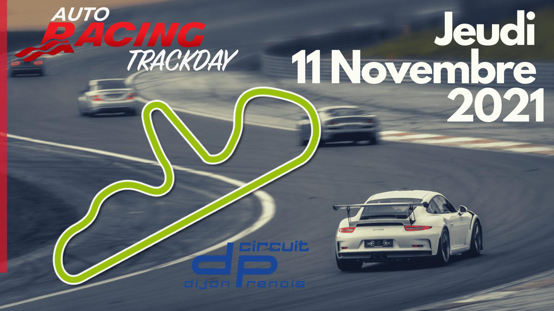 TrackDay Circuit Dijon Prenois | Jeudi 11 Novembre 2021